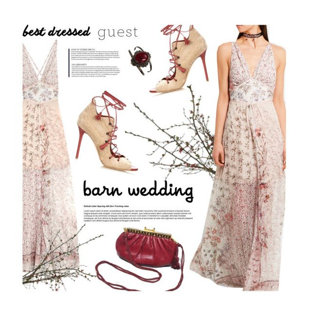 """""""Maxi dress for Summer"""" by magdafunk ❤ liked on Polyvore featuring Etro, Judith Leiber, Malone Souliers and vintage"""