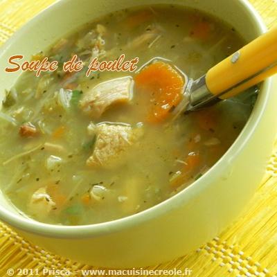Cuisine antillaise soupe poulet 1 martinique pinterest for Cuisine martinique