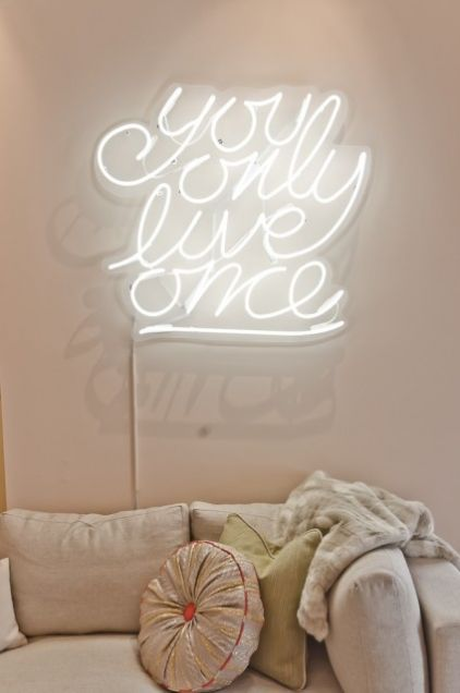 you only live once. :: by Em Design Interiors eclectic bedroom