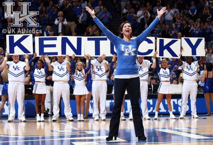 Ashley Judd at UK vs. Bama 1/21/12: Kentucky Girls, C A T S Cat, C A T Cat, Home Kentucky, Kentucky Homeland, Kentucky Basketball, Kentuci Wildcats, Kentucky History, Kentucky Wildcats