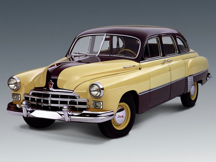 1950's GAZ 12 ZiM   Soviet Cars