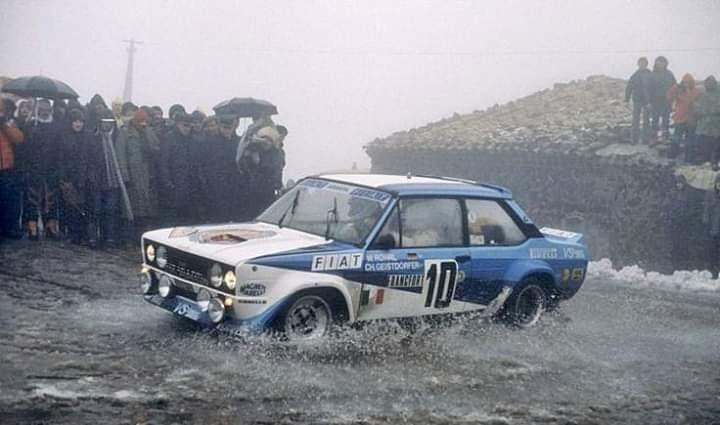 Fiat 131 Abarth Rally 1980 Wrc Rally Monte Carlo By Rsf
