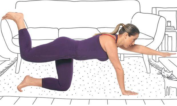 5 exercícios indispensáveis para fazer em casa e deixar seu corpo Top | VC BELA