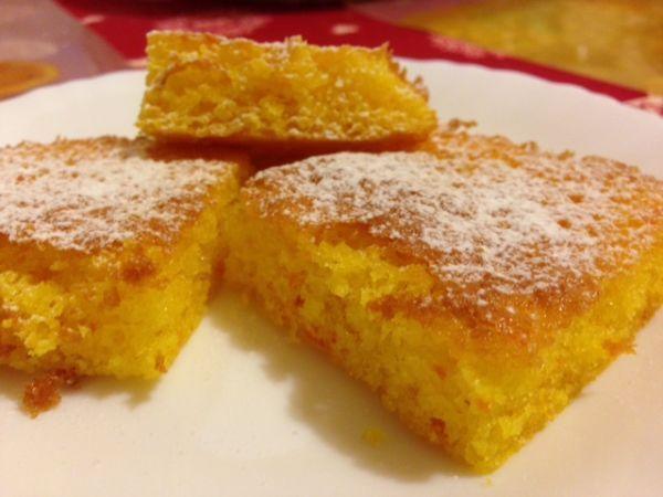 Ricetta Brownies all'arancia