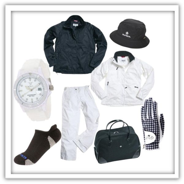"""""""Golf Rain Gear for women"""" by golf4her on Polyvore"""