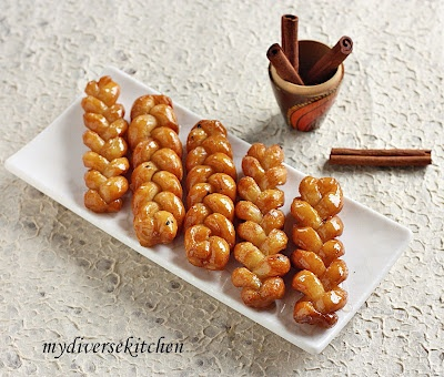 Koeksisters (South African Deep Fried And Sugar Coated Pastry Braids)