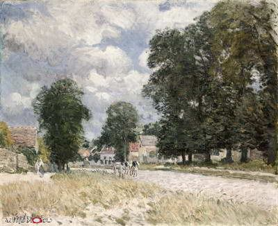 Road to Marly-le-Roi Alfred Sisley