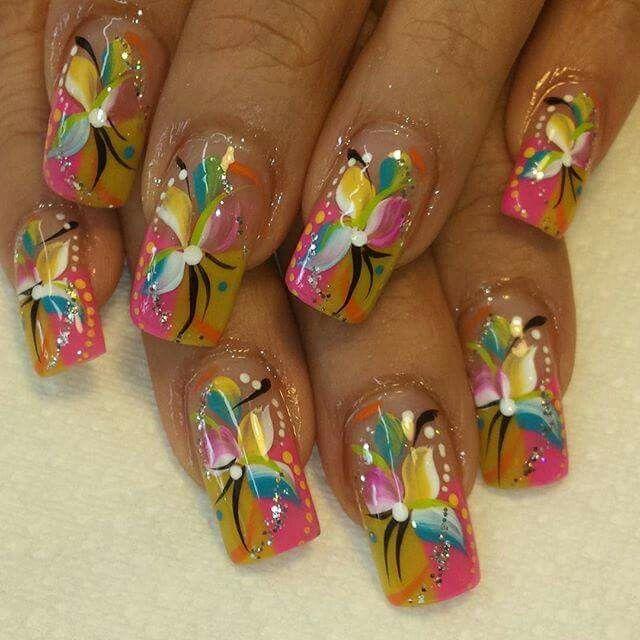 149 mejores imágenes de Fabulous nails! en Pinterest | Arte de uñas ...