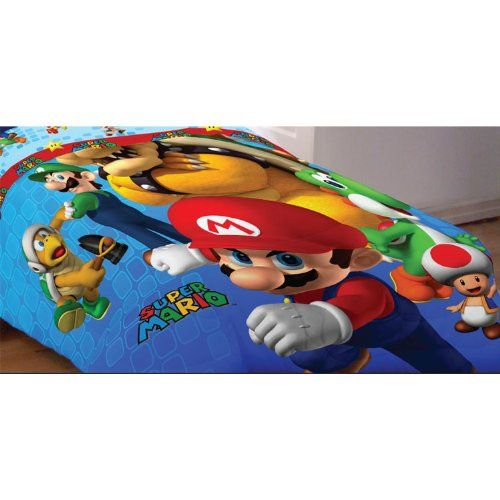 Super Mario Full Bedding Set Fresh Look Comforter Sheets ...