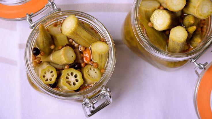 Receta | Okra and green bean pickles (Encurtidos de okra y judías verdes)
