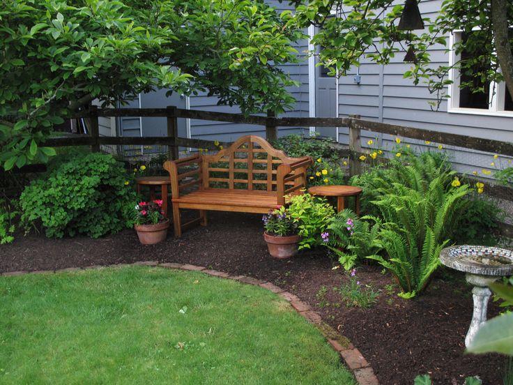 Backyard Corner Landscaping Ideas Back Yard Corner Landscaping - Small backyard corner landscaping