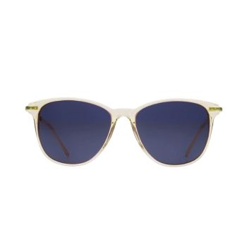 Kaibosh 70 S Fling Lemon Sorbet Sunglasses: Kaibosh 70s Fling Lemon Sorbet Sunglasses. A super lightweight and flattering style, the 70s fling shape from Kaibosh will flatter almost everyone. With a pale yellow frame, it's a softer look, perfect for anyone looking for a sleek, retro-inspired design.
