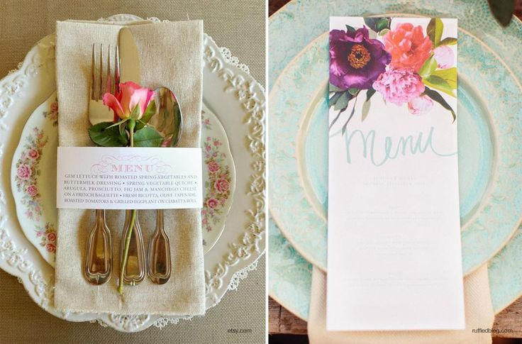 individuales de papel para bodas - Buscar con Google