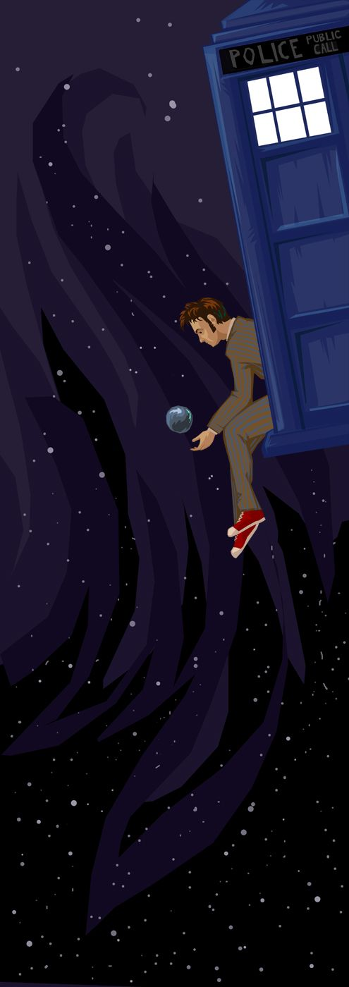 Doctors Who Art, The Tardis, Doctorwho, The Universe, 10Th Doctors, Fans Art, David Tennant, The Tenth Doctors, Time Lord