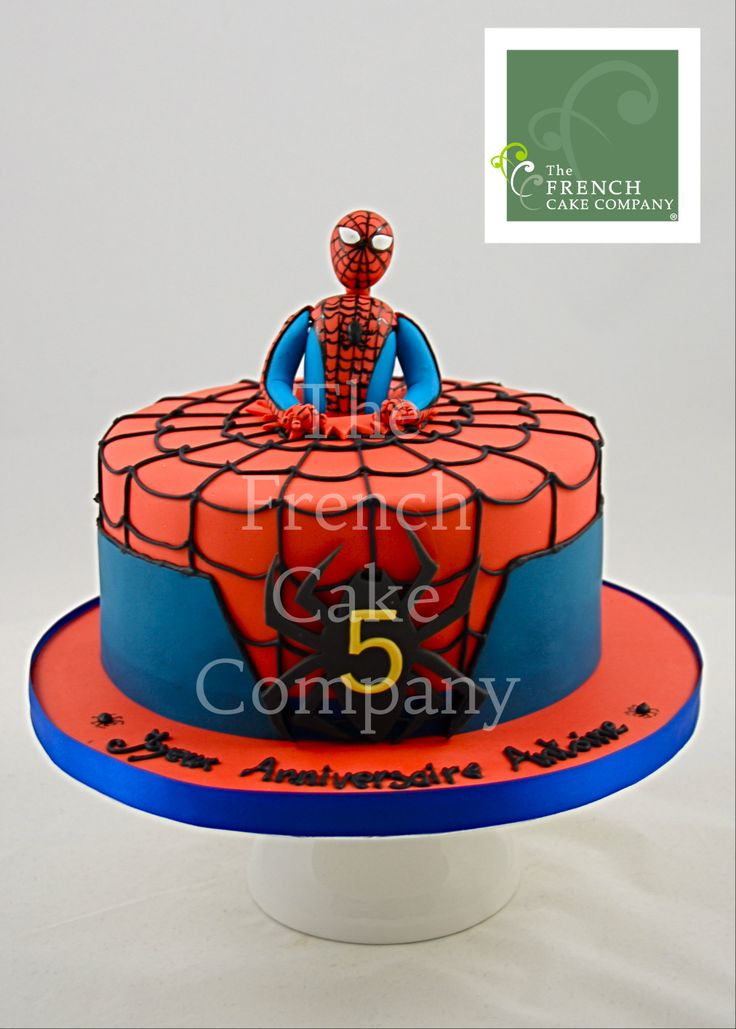 Deco gateau spiderman - Deco anniversaire spiderman ...