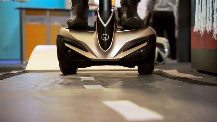 Why walk when you can let a gadget do it for you? The R2 is a personal electric transportation device.