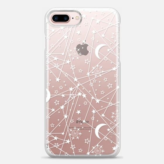 Casetify iPhone 7 Plus Snap Case - Sun moon stars white galaxy by Famenxt