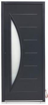 Porte d 39 entree metal denver h215xl90 d magasin de bricolage brico d p t de toulon new home - Range buche brico depot ...