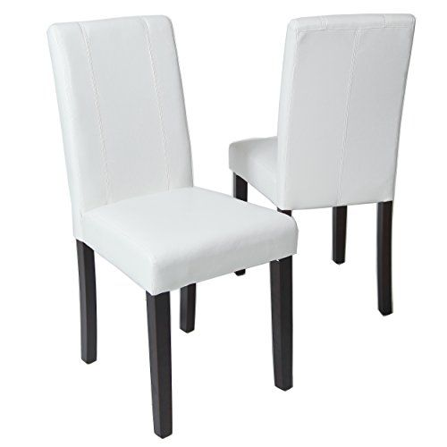 best 25+ white leather dining chairs ideas on pinterest
