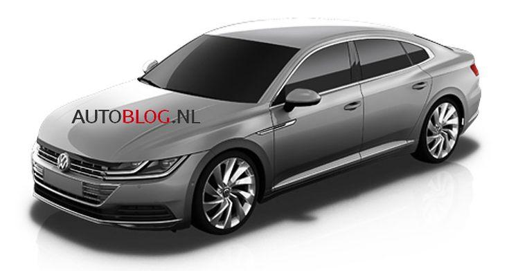 2017 VW CC exterior leaked