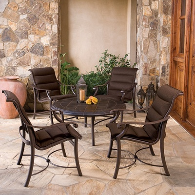 Montreux Padded Sling Dining Patio Furniture By Tropitone