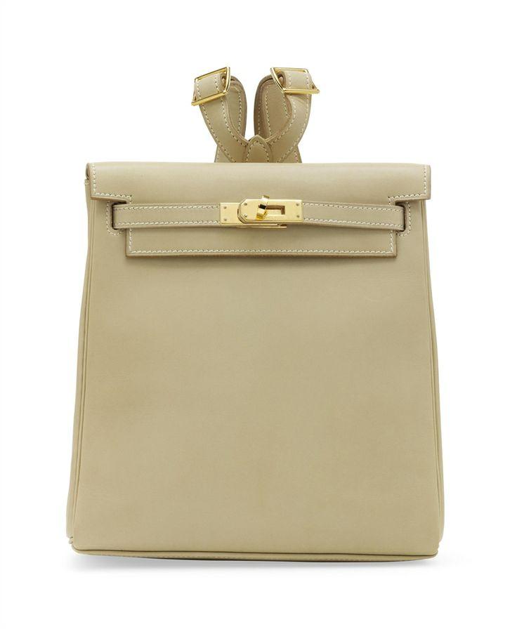 A vanilla leather sac a dos kelly rucksack