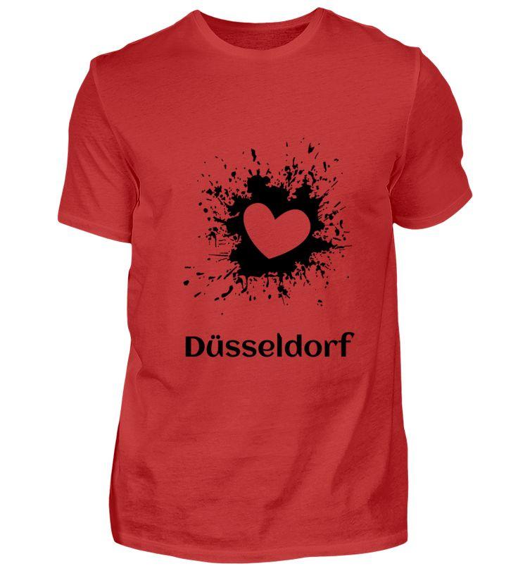 Düsseldorf - Meine Stadt - Liebe T-Shirt