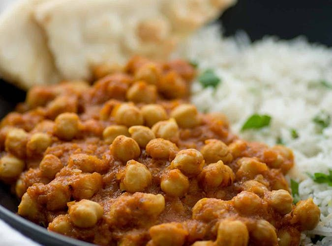 Vegan Slow Cooker Chana Masala mediterranean slow cooker meals