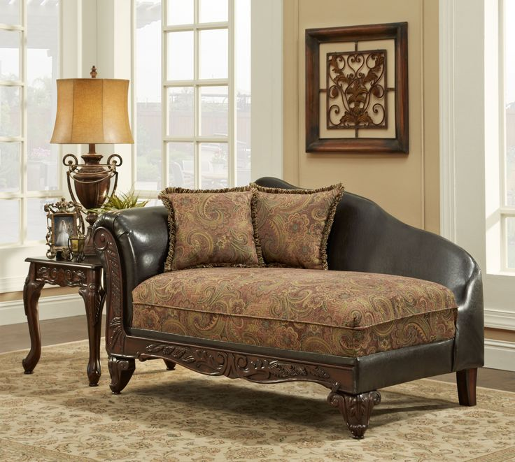 Arlene Silas Raisin Chaise with Brown Body