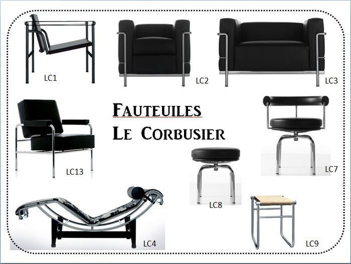 Le Corbusier Interieur Tadao Ando, Le Corbusier Furniture