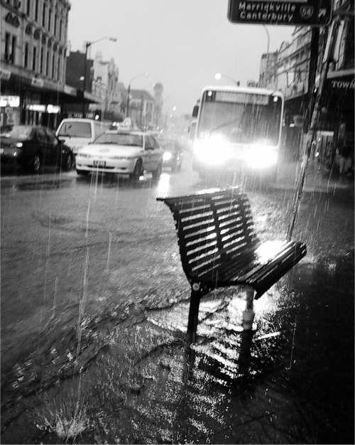 it's raining. Again.