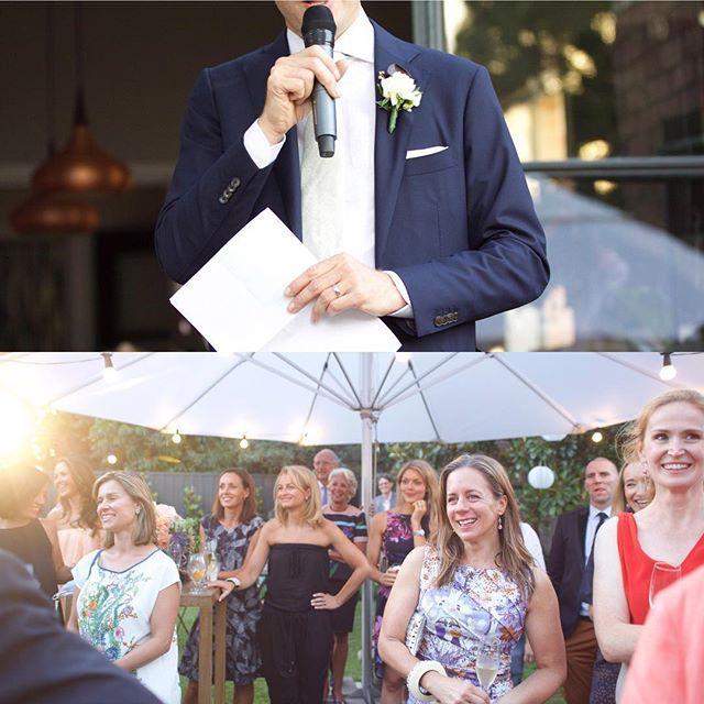 Nailed those speeches.... #kcphoto #weddingphotographer #melbournebride #realweddings #no21stspeeches #capturethemoment #bigday #weddingphotography