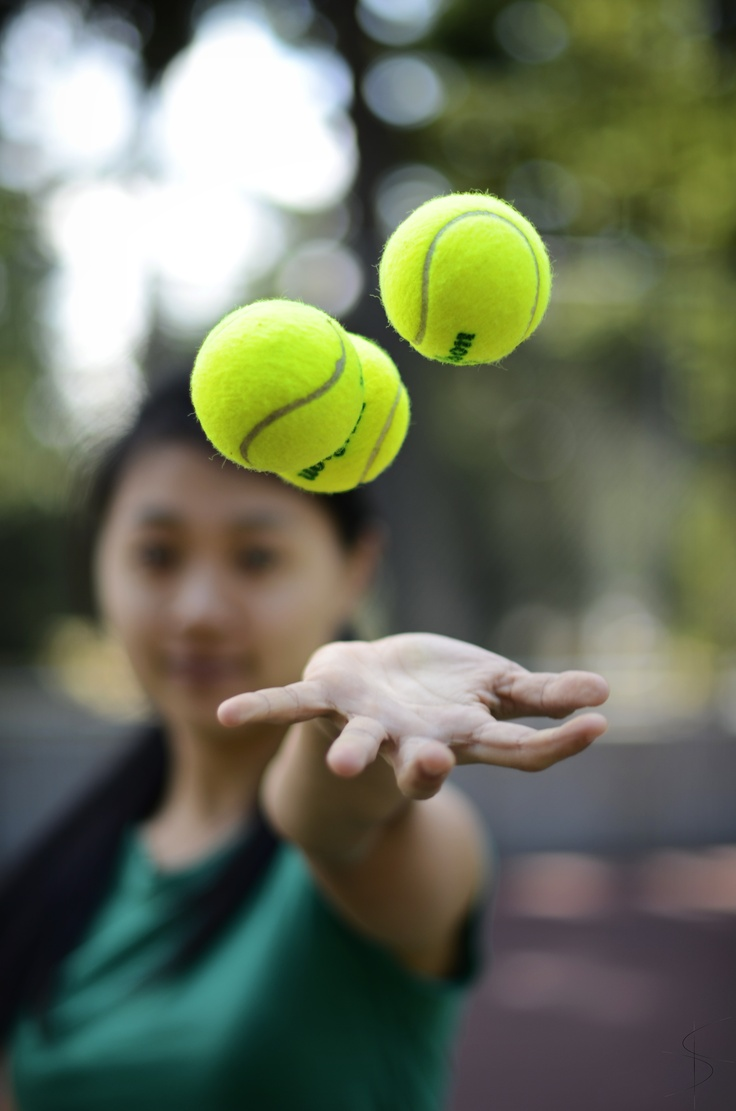 Tennis photo, floating photography.
