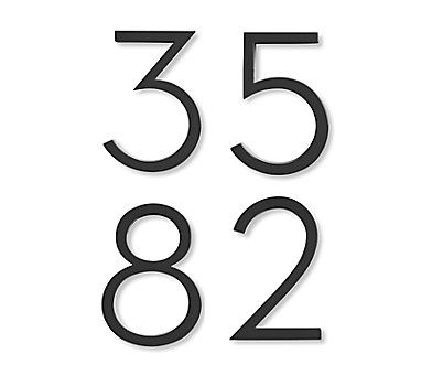 25  best ideas about house numbers modern on pinterest