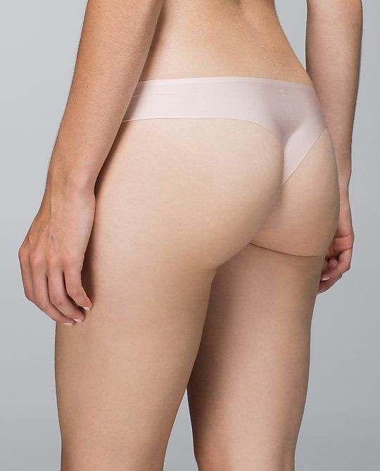 Flesh toned laser cut g-string/thong. Perfect for protecting your modesty under sheer outfits. Laser cut means no panty lines! A must have for your boudoir wardrobe. From Lululemon Australia