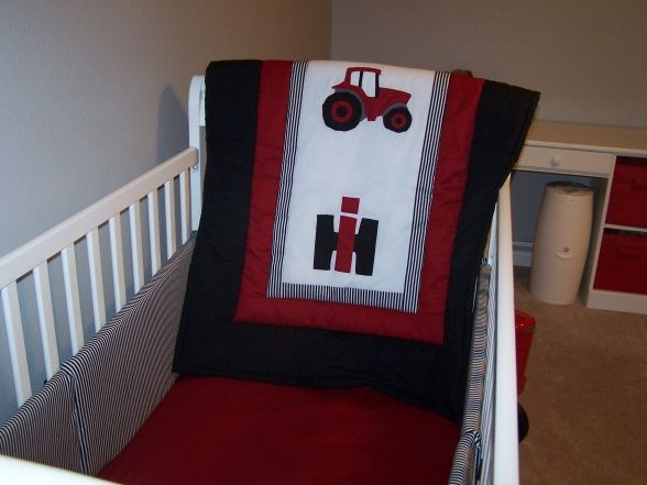 Yepppp ahh huhh! My boyfriend said his kids nursery will be done in Case IH :)
