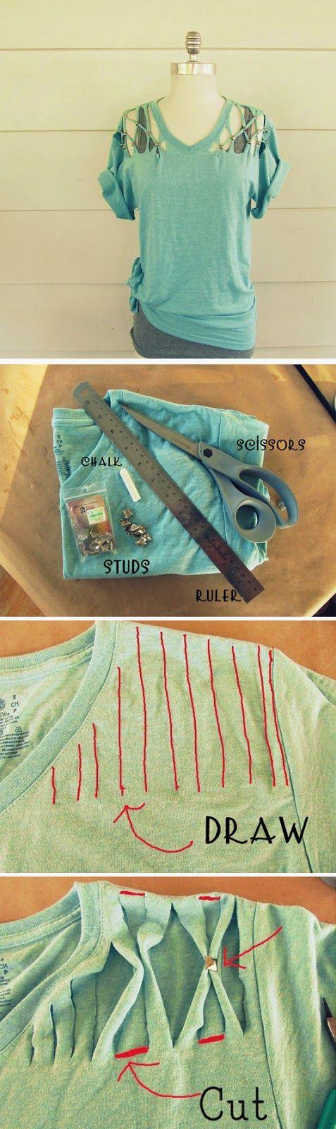 ABCDIY: 16 Upcycled and Refashioned TShirt DIY
