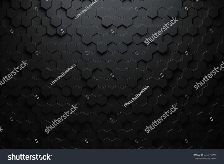Стоковая иллюстрация «Черный треугольный абстрактный фон ...