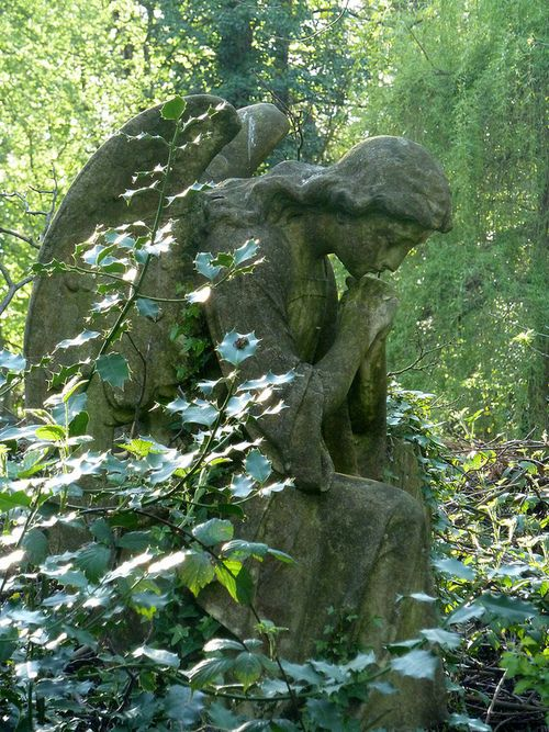 Prachtige sfeer, Nunhead Cemetery, London