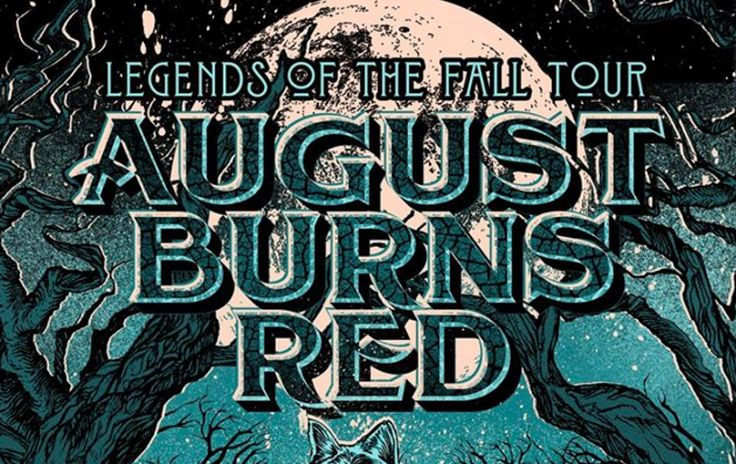 AUGUST BURNS RED, ERRA, SILENTPLANET, And MAKE THEM SUFFER To Tour North America