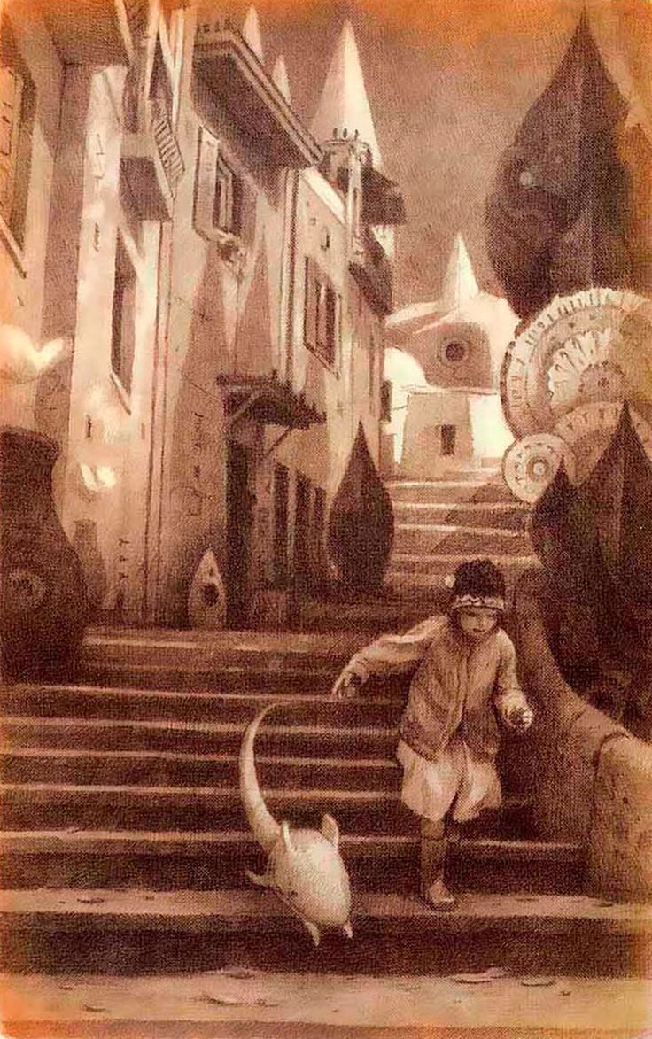 The Arrival by Shaun Tan - I love love love this book! Amazing art work, one of my favourite books that I own!
