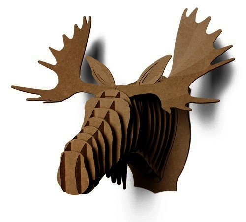 1000 images about cardboard box moose head on pinterest moose safari and baltic birch - Cardboard moosehead ...