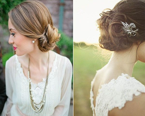 Ltimas tendencias en peinados de novia novias peinados bodas peinados pinterest search - Lo ultimo en peinados de novia ...