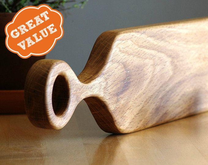 Oak Serving Board - Tapas Plate - Plateau Apero - Wood Kitchen Utensil - Centerpiece Wood Slab - Scandinavian Kitchen - Michael Vermeij