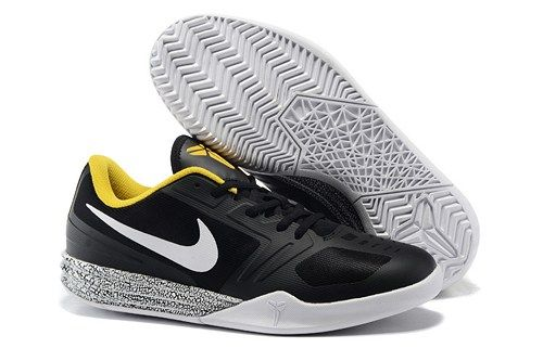 finest selection 4b071 b40ad 2015 NIKES KB MENTALITY kobe 10 men basketball shoes black yellow