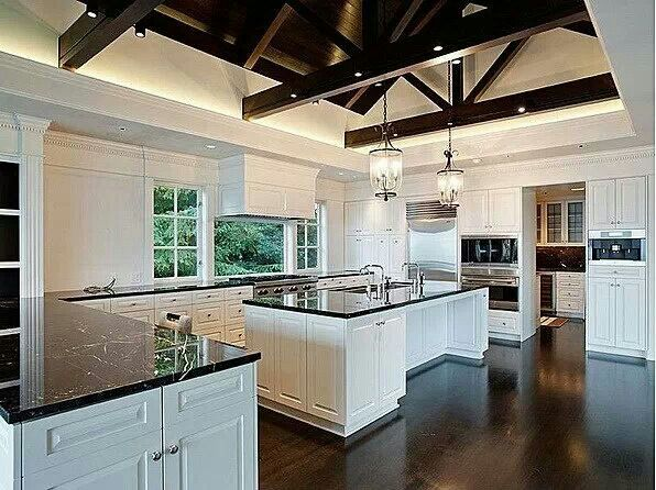 Big And Beautiful Kitchen Dream Kitchens Pinterest