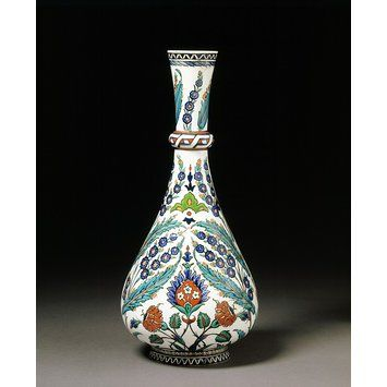Bottle vase | Minton & Co. | 1862