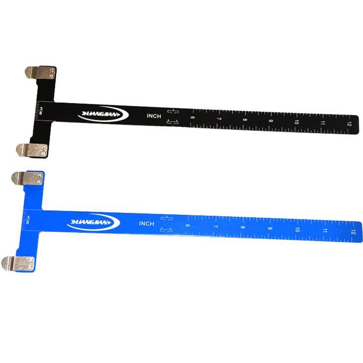 1 Piece 2 Colors Archery Bow T ruler Archery Metal Bow