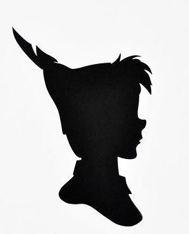 Peter Pan silhouette