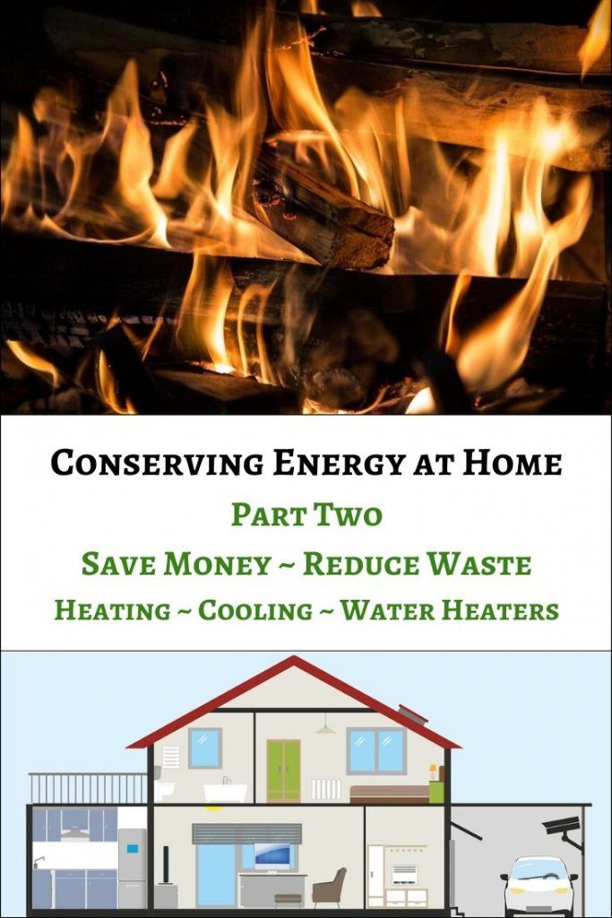 Conserving Energy At Home Part 2 In 2020 Heating And Cooling